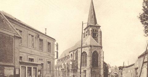 Carte postale Guyancourt église St Victor