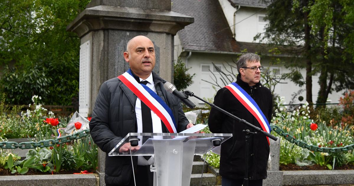 Discours du maire François Morton 8 mai