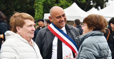 François Morton et une guyancourtoise