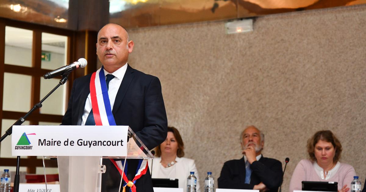 Discours du maire François Morton election maire