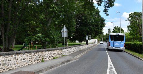 Rue des gravier bus SQY