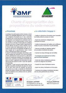 Charte signée de l'AMF pour la petite enfance