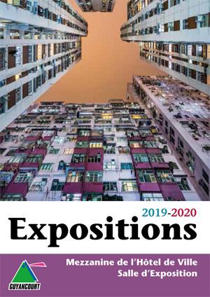 Couverture programmation des expositions 2019-2020
