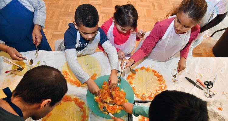 Atelier culinaire Citrouille