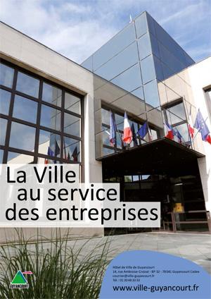 Couverture La Ville au service des entreprises 2019