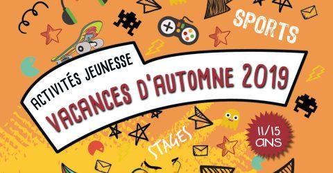 Activités jeunesse automne 2019