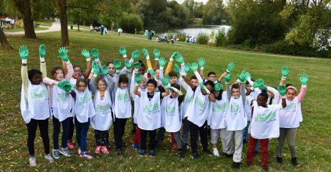 Ecole Langevin Nettoyons la nature