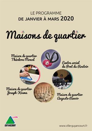 Programme MQ janvier - Mars 2020