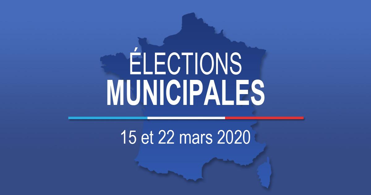 Election municipales 2020