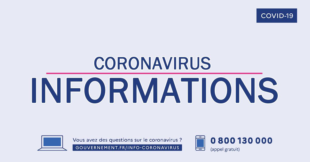 Informations Guyancourt Coronavirus