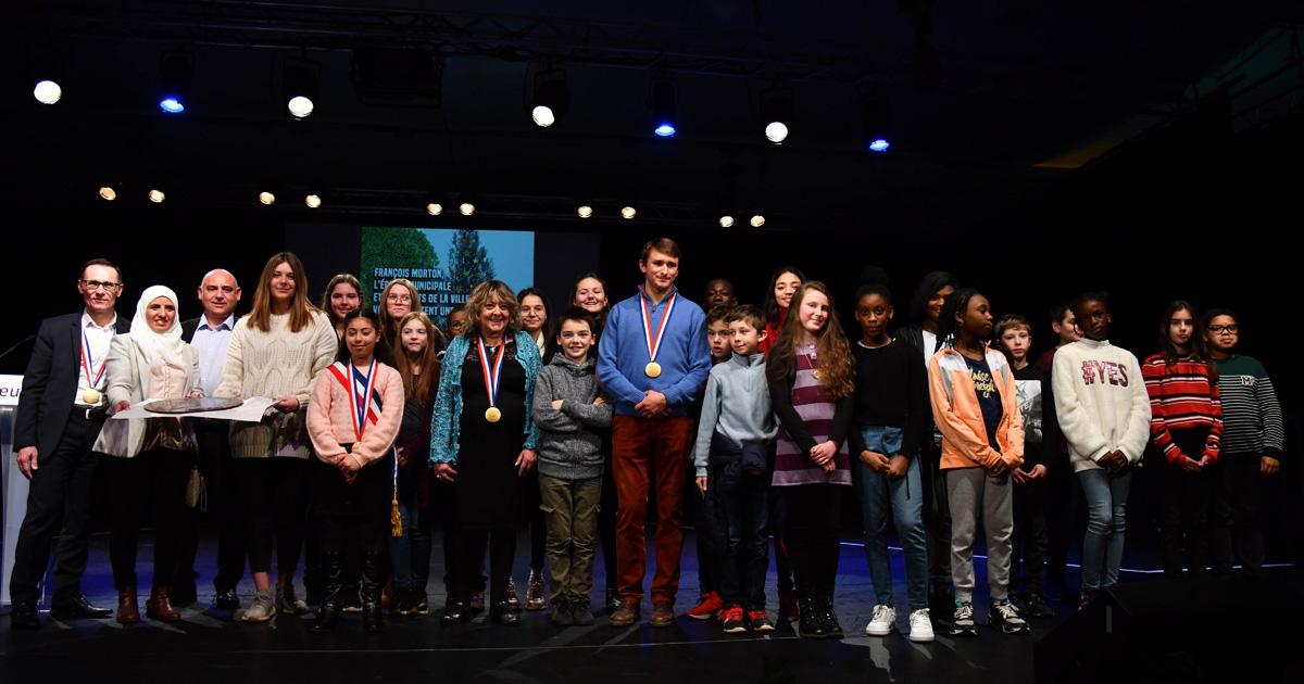 Les médaillés de la Ville 2020