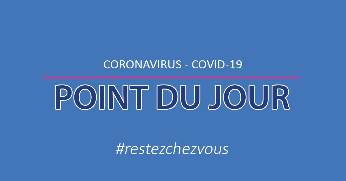 coronavirus point du jour