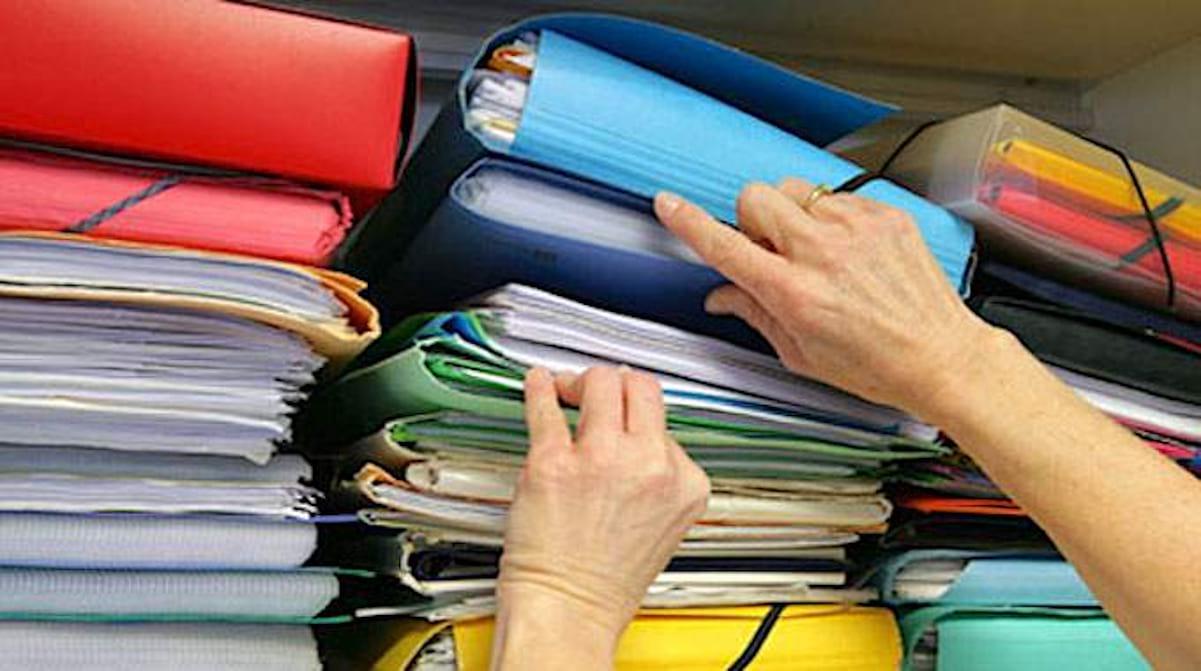 rangement documents