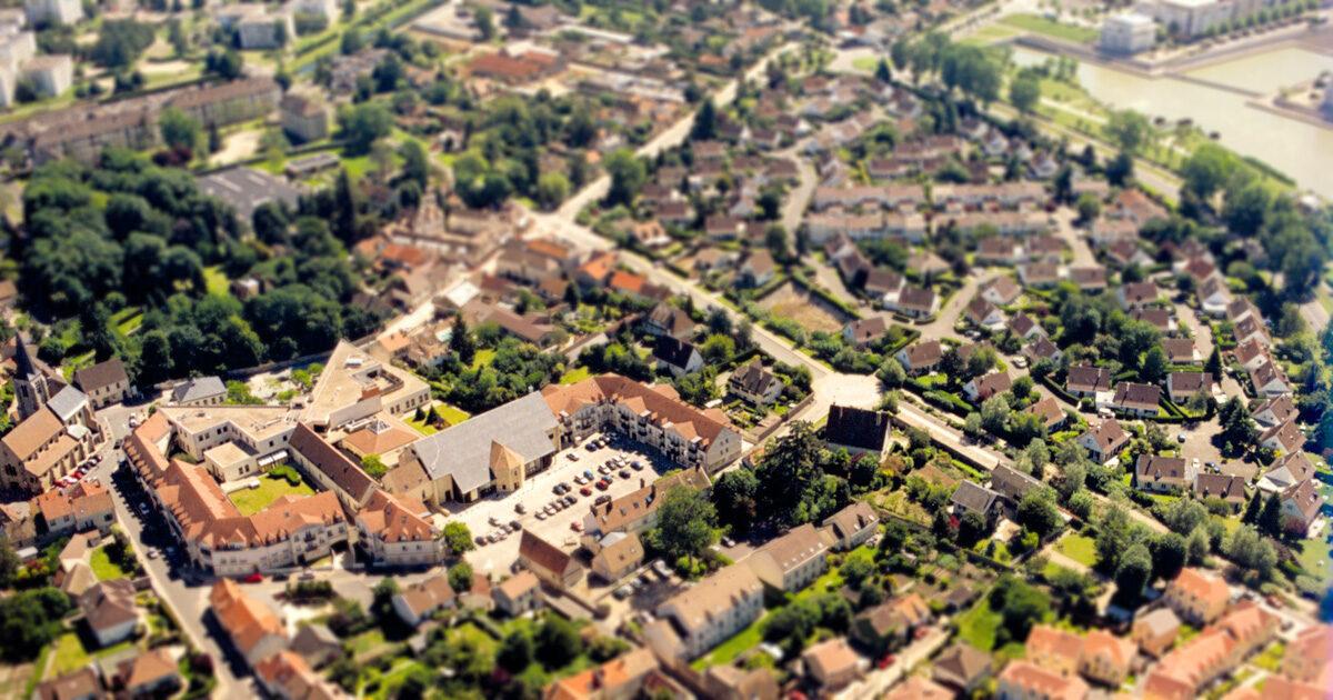 Guyancourt ville maquette