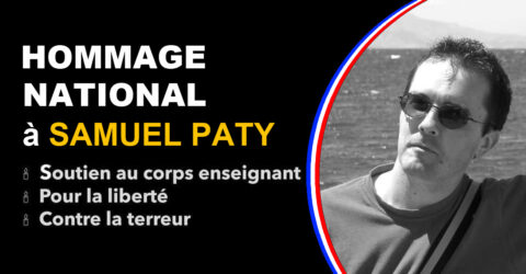 Hommage national Samuel Paty