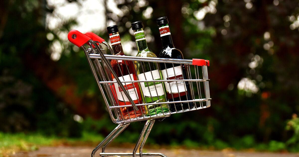 Achat alcool