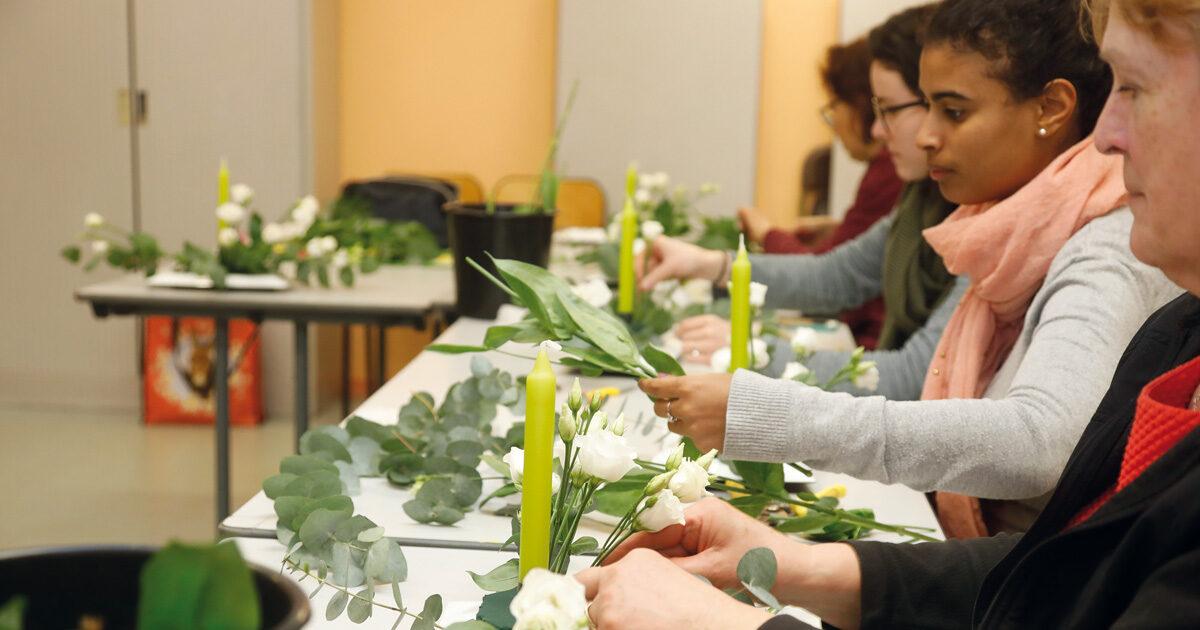 atelier floral fleur