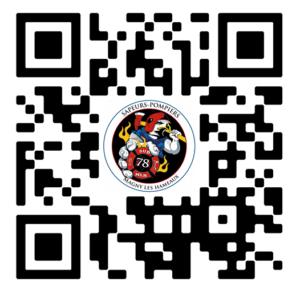 QR code pompiers Magny
