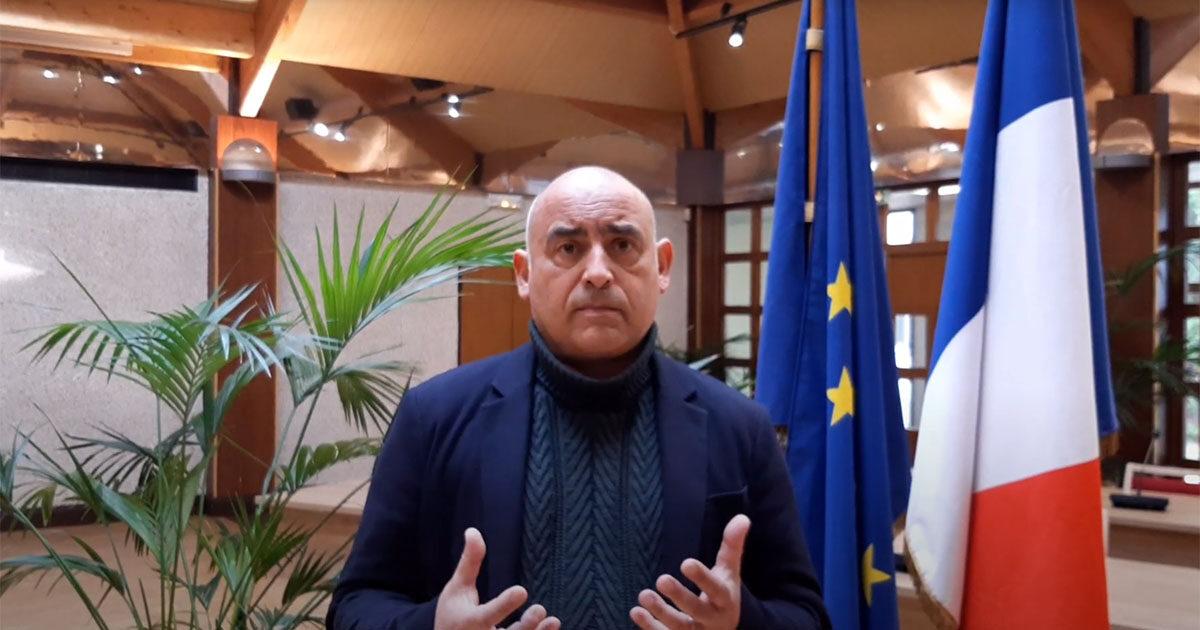 François Morton hommage victimes terrorisme