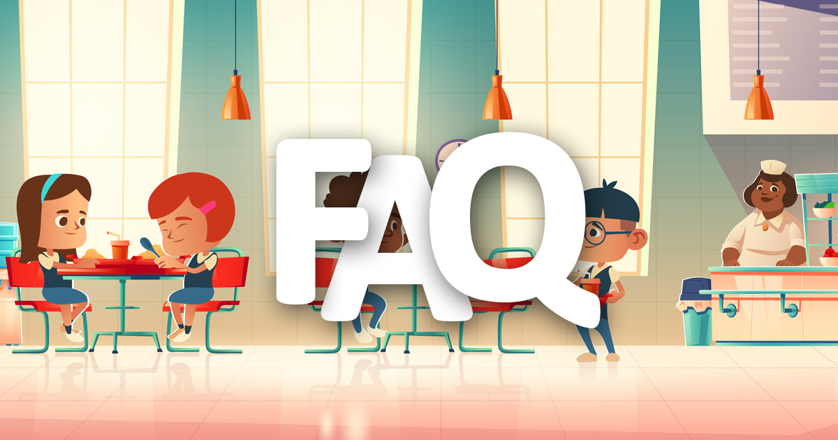 FAQ commission menus