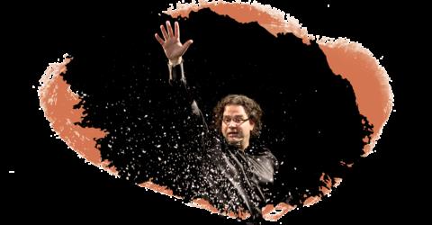 Pascal Amoyel envoie en l'air une pluie de paillettes